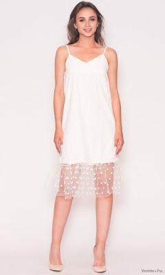Vestidos de Noche Blancos