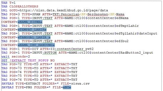 Hasil Edit Merge Field