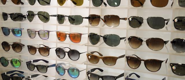 Lugares para comprar óculos escuros em Miami
