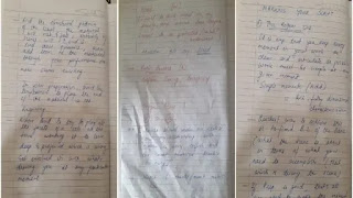 Sushant Singh rajput Diary Pages 2