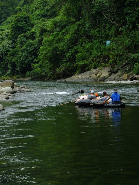 After enjoying the Leuser forest travelers can do tubing down the river Bahorok