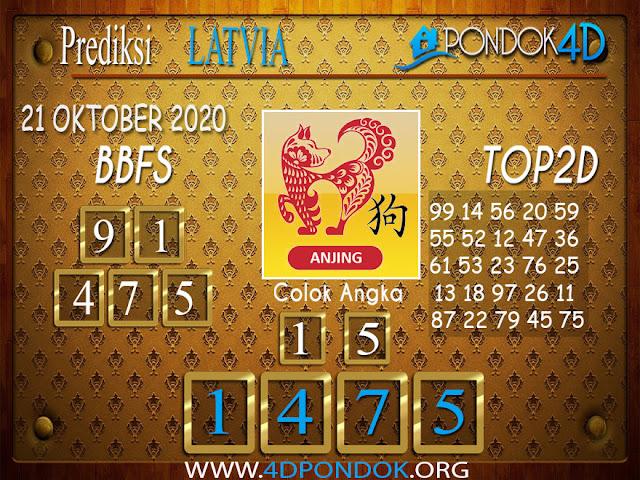 Prediksi Togel LATVIA PONDOK4D 21 OKTOBER 2020