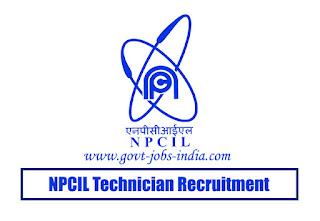 NPCIL Technician Recruitment