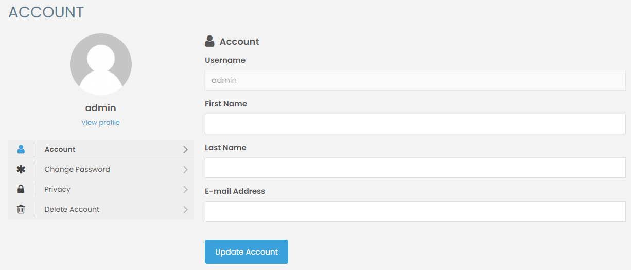 Halaman My Account Ultimate Membership