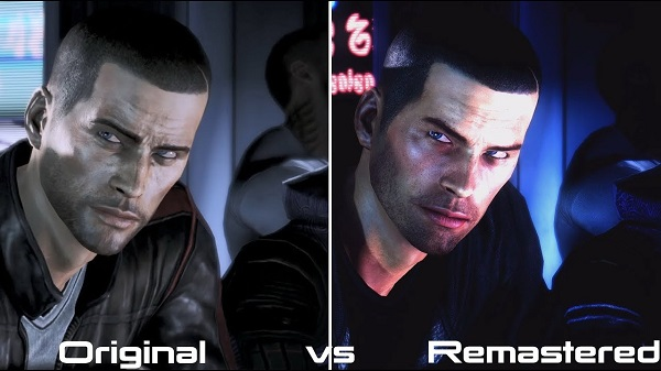 Graphical Differences of Mass Effect Original vs Remaster