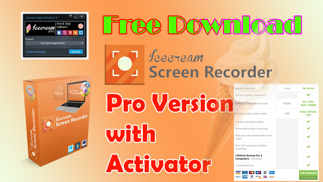 icecream screen recorder 4.89 crack Archives