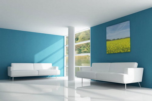 Beautiful And Attractive Using Simple House Interior Painting Ideas