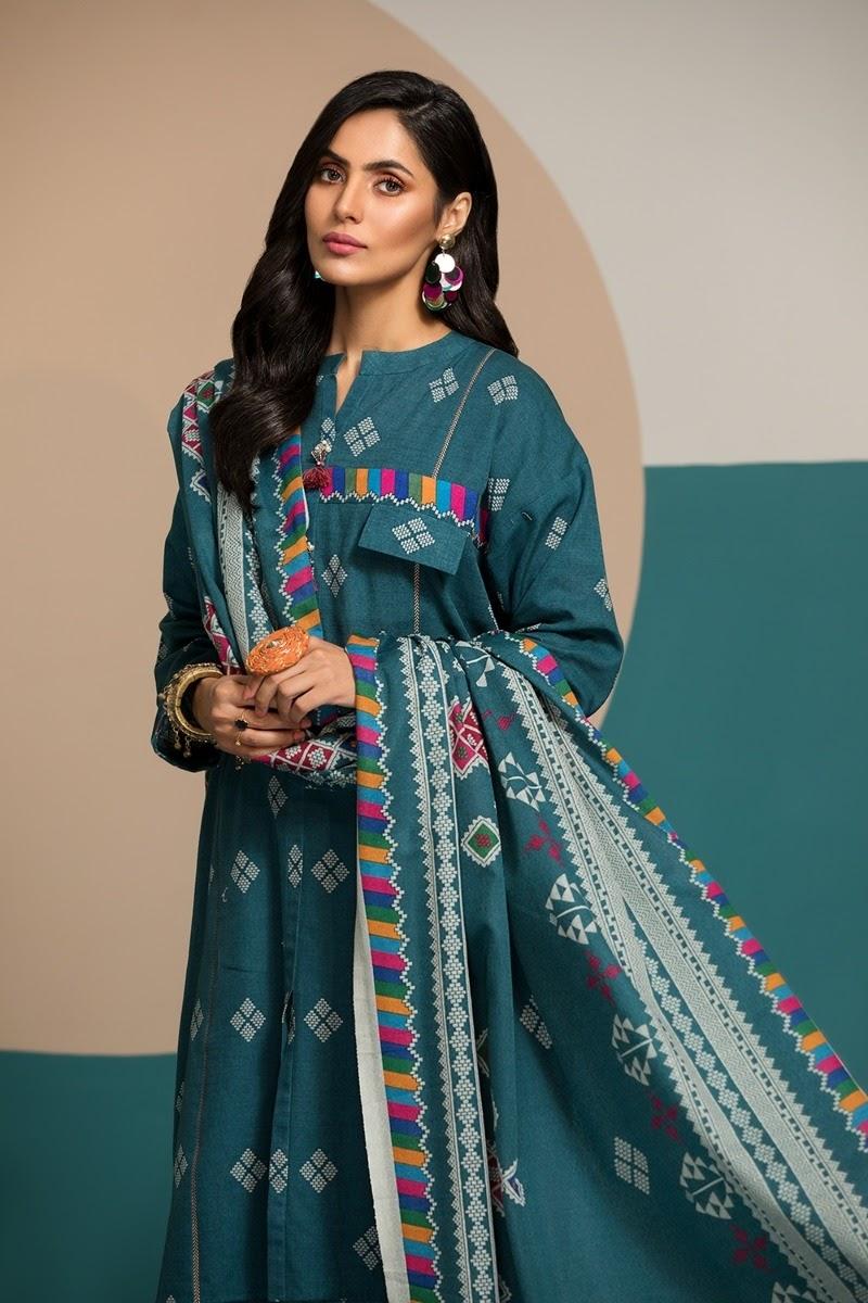 Nishat Linen Unstitched Winter Collection 2020