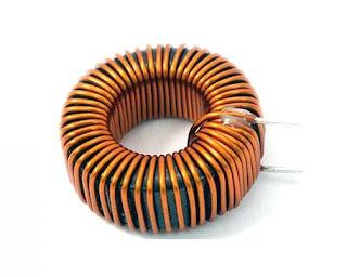 Torroidal core induktor