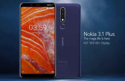 هاتف Nokia 3.1 Plus يستقبل تحديث أندرويد 10