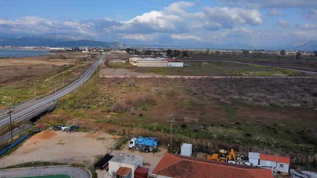 Πιέζει ο Κωστούρος για έκταση 50 στρεμ. στην παραλιακή - Θα δημιουργηθεί αθλητικό κέντρο και σχολείο
