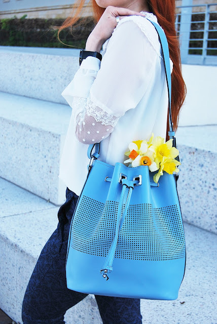 outfit #fourty five – BLUE SPRING AND DAFFODILS