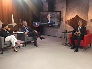 Governador concede entrevista à Globo News
