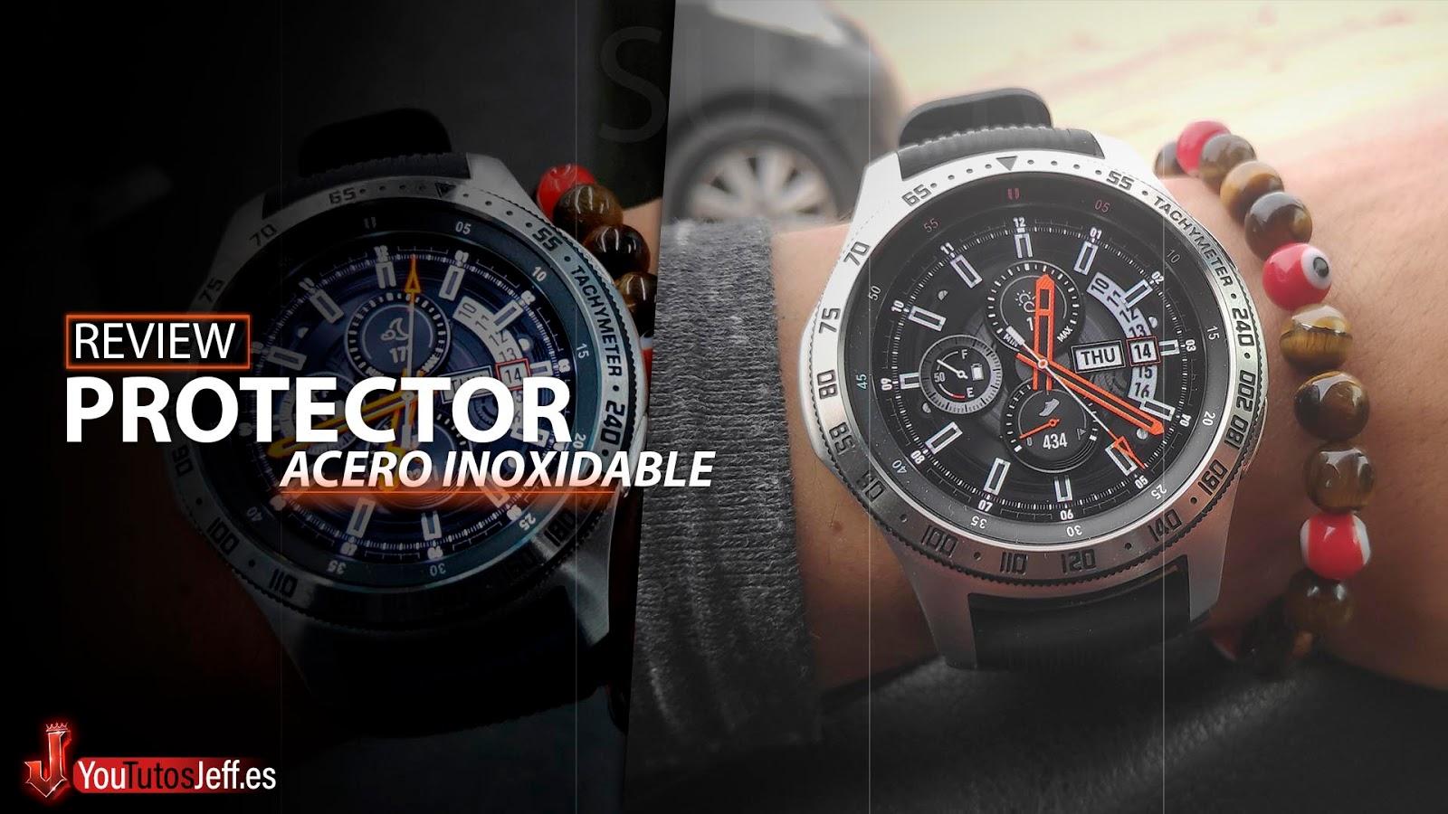Samsung Galaxy Watch Bisel Protector😍
