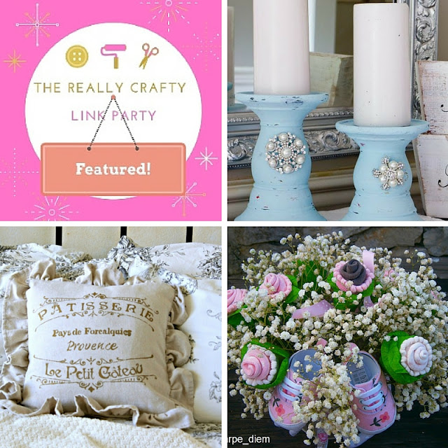The Really Crafty Link Party #22 featured posts!