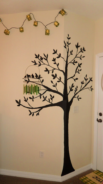 Lc Design Painted Trees For Bedroom Or Living Room Walls