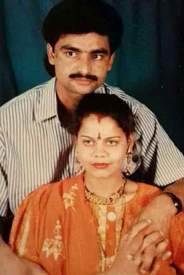 Chahat Pandey's Parents