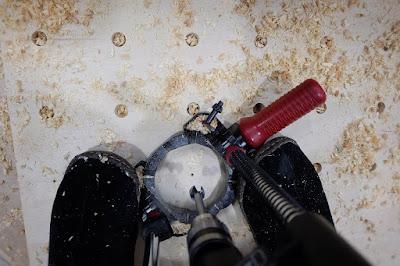 peg pegboard drill press hole