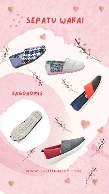 Sepatu wakai hashigo - wakai kohai