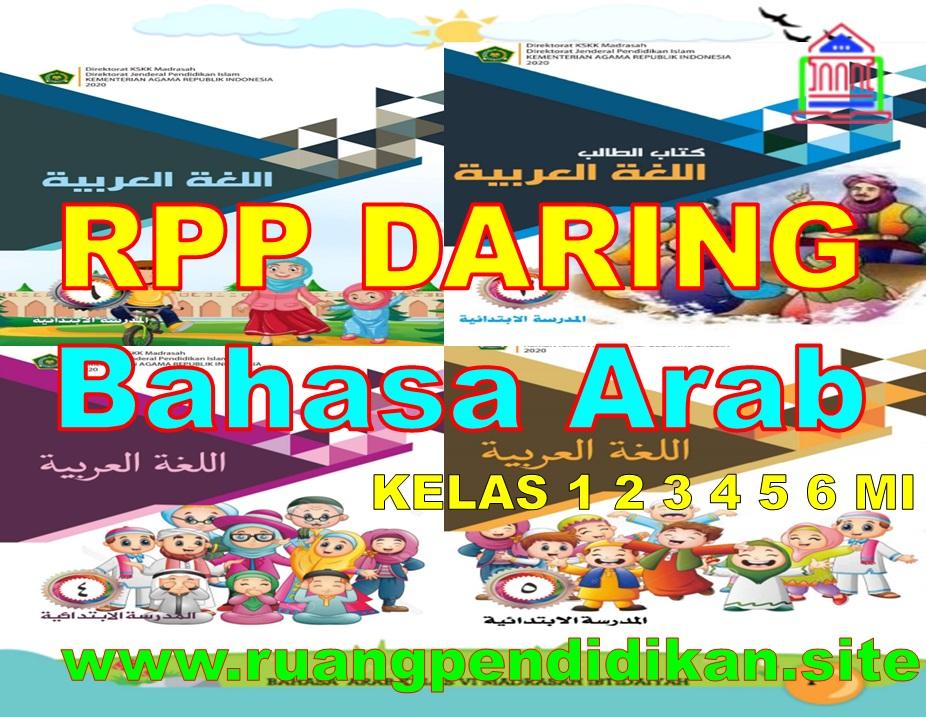 Rpp Daring Bahasa Arab Kelas 1 2 3 4 5 6 MI