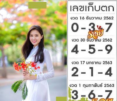 Thailand Lottery 3up Win Number Facebook Timeline 16 December 2019