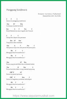 chord lagu panggung sandiwara duo kribo ahmad albar