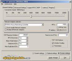 Download TCP Optimizer