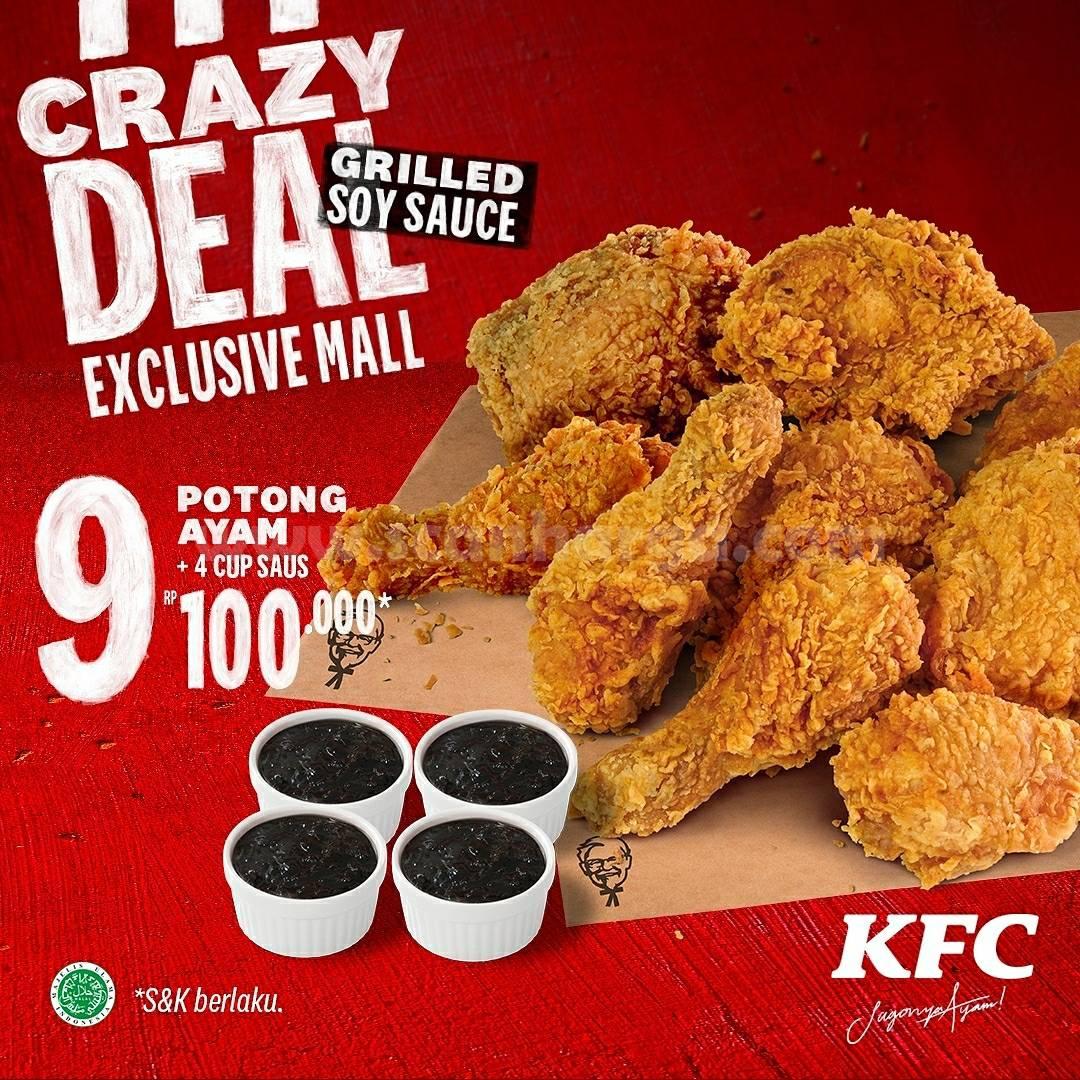 KFC CRAZY DEAL! Promo Mall Exclusive Deals