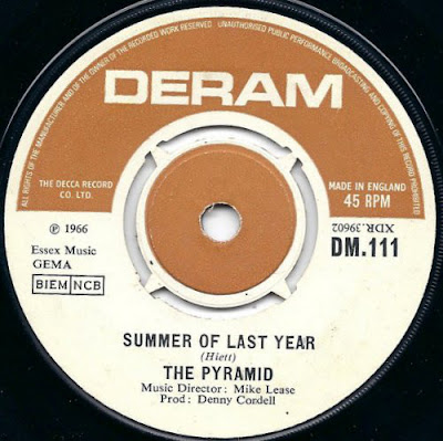 Deram Record Story (Singles) The Pyramid