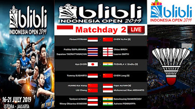 BLIBLI INDONESIA OPEN 2019 Round Of 16