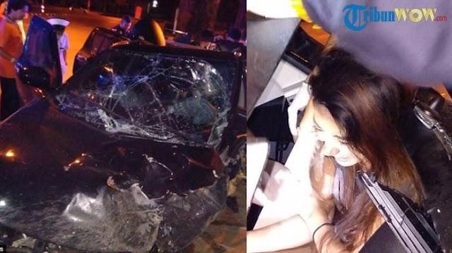 Wanita Bugil dan Lelaki Setengah Telanjang Ditemukan dalam Kecelakaan Mobil Suzuki