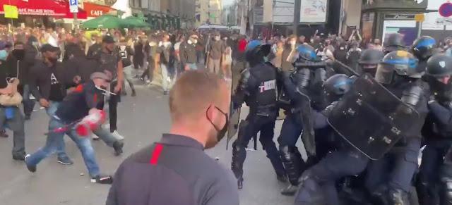 Proteste in Francia: lo sfogo del popolo contro i mercenari del governo