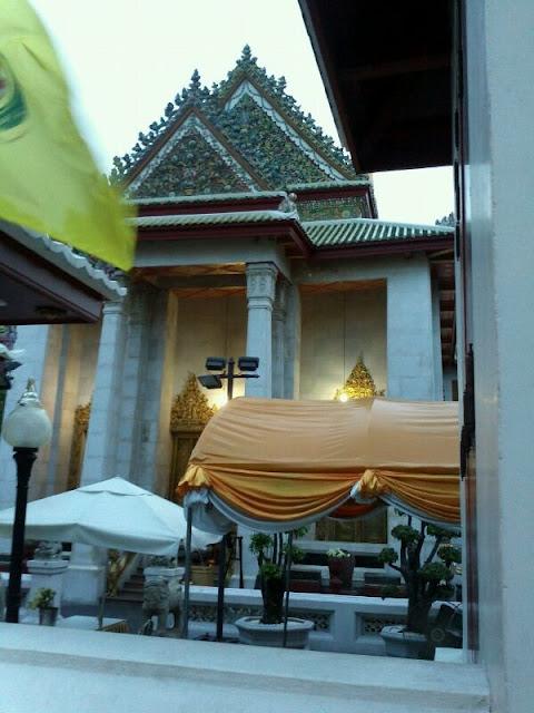 Primeros días de templos en Bangkok