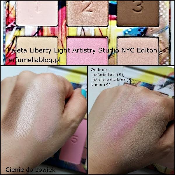 swatch recenzja palety do makijażu liberty light