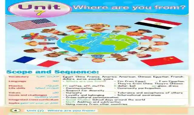 كتاب الباهر كاملا فى اللغة الانجليزية كونكت 3 للصف الثالث الابتدائى الترم الثانى 2021