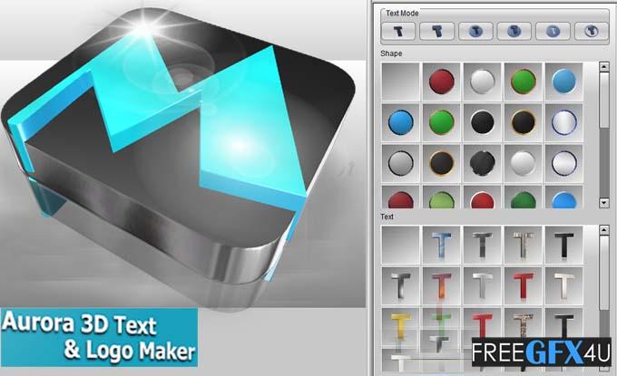 Aurora 3D Text & Logo Maker v20