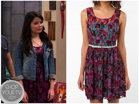iCarly: Season 7 Episode 2 Carly's Purple Lace Dress | Shop
