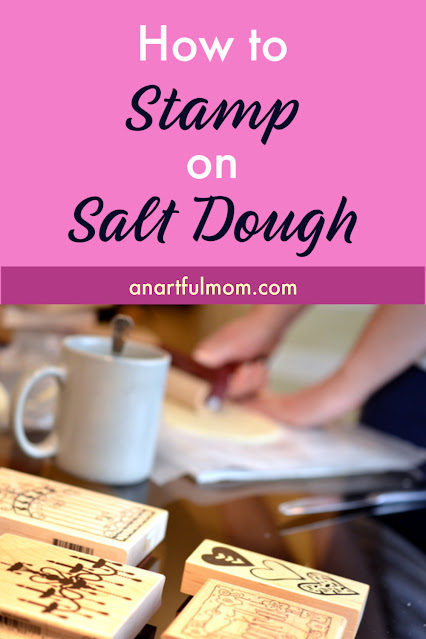 How to stamp on salt dough