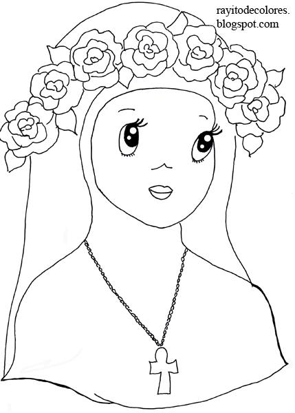 Dibujos Santa Rosa  Compartiendo por amor