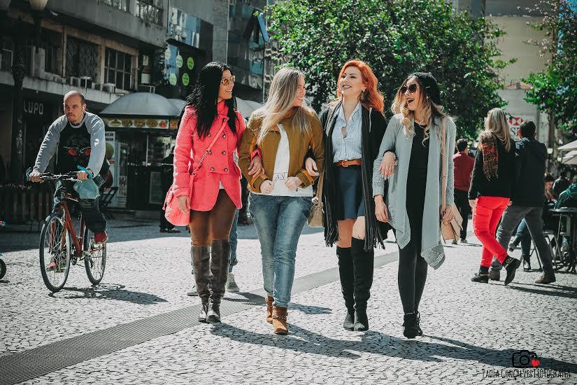 Ensaio urbano Blogueiras Curitiba