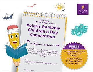 2019 Polaris Bank Rainbow Children's Day Competition Guidelines [Apply]
