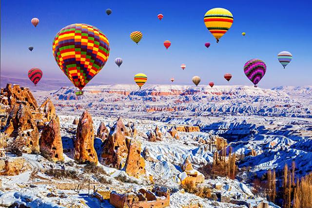 Destinasi Wisata Saat Musim Dingin Terbaik Di Turki