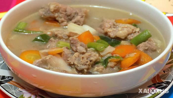 Resep cara membuat sayur sop daging sapi