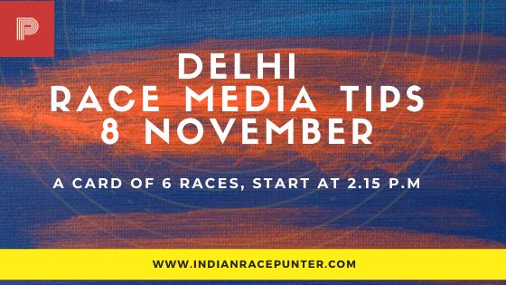 Delhi Race Media Tips 8 November