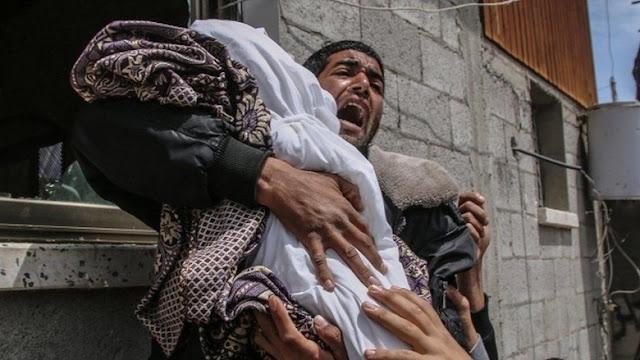 Israel dan Milisi Palestina Saling Gempur, Korban Jiwa Terus Berjatuhan