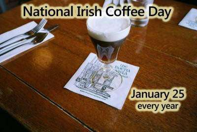 National Irish Coffee Day Wishes Awesome Images, Pictures, Photos, Wallpapers