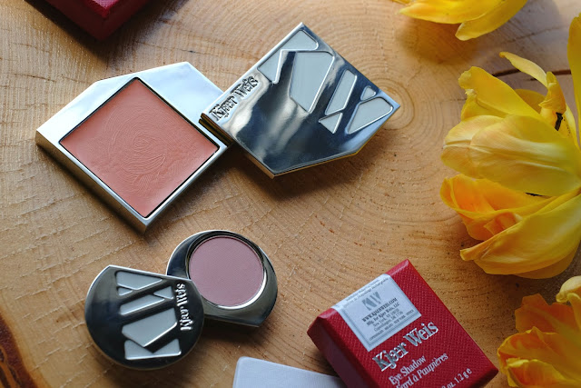 Kjaer Weis Cream Blush in Precious and Kjaer Weis Eye Shadow in Angelic