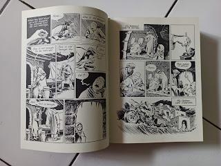 Halaman Dalam Graphic Novel Habibi by Craig Thompson