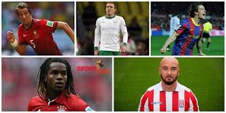 أسوء خمس لاعبي كرة قدم على مر التاريخ