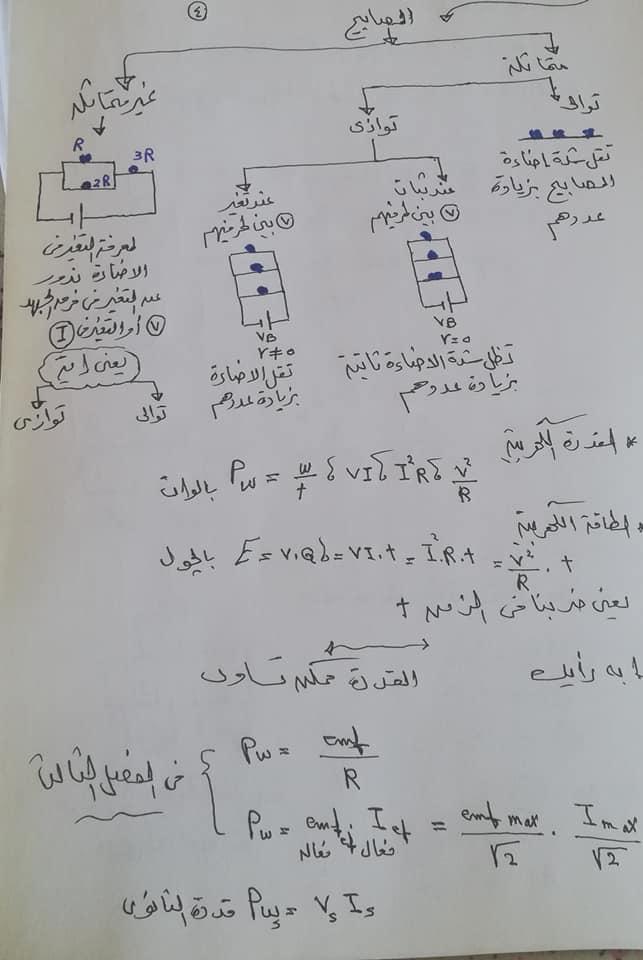 تريكات مهمة للحصول على الدرجة النهائية في امتحان الفيزياء للثانوية العامة 2021 4